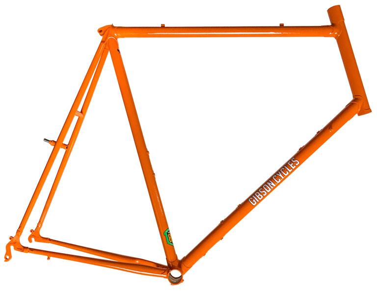 Custom 69cm all road frame